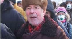 Powiedźcie mojemu bratu w Polsce, że ja w Kijowie na barykadzie