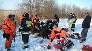 Nie żyje 48-letni wędkarz. Załamał się pod nim lód