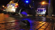 Wypadek na DK 59. Dostawczy mercedes potrącił 4-letnie dziecko