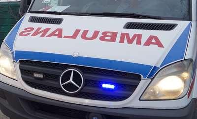 Opel uderzył w audi. Jedna osoba ranna