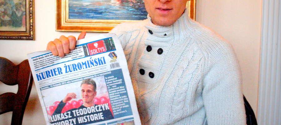 """Z Łukaszem spotkaliśmy się w restauracji """"U Rucińskich"""""""