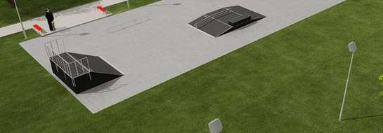 W internecie na stronie internetowej skatepark w Żurominie została zamieszczona wizualizacja obiektu