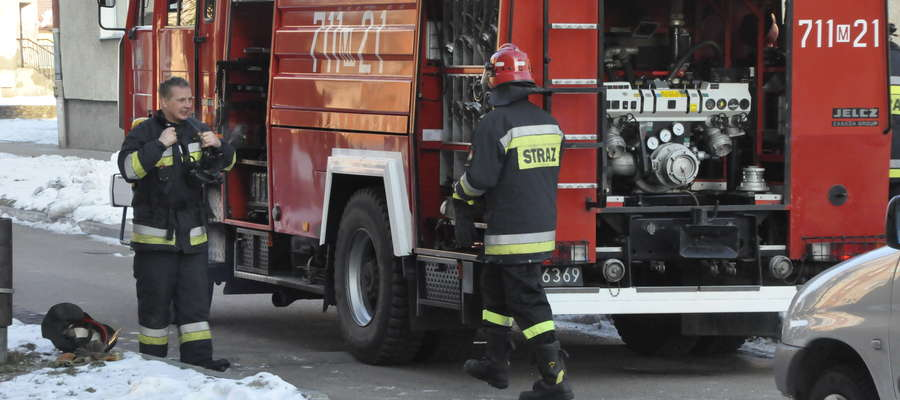 Strażacy interweniowali, nikomu nic się nie stało