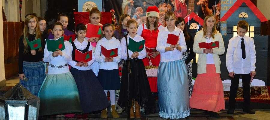 Młodzi aktorzy z ZS zajęli Im. podczas XVII Festiwalu Jasełek