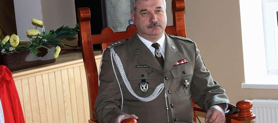 Płk prof. dr hab. inż. Jarosław Wołejszo, dziekan wydziału dowodzenia i zarządzania AON został Honorowym Obywatelem Gminy i Miasta Bisztynek.