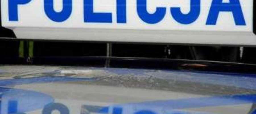 Policjanci z Ostródy przerwali rodzinne spotkanie ojca z nieletnim synem