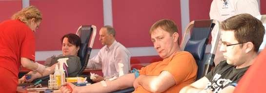 Akcja honorowego krwiodawstwa w nowomiejskiej straży pożarnej