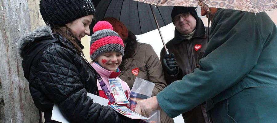 Mieszkańcy powiatu nie szczędzili pieniędzy dla Wielkiej Orkiestry Świątecznej Pomocy