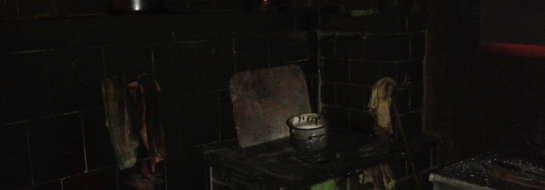 Piec, do którego rozpalenie użyto płynu łatwopalnego