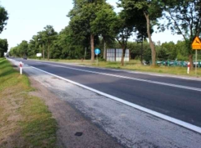 Tak dziś wygląda droga z Ostrowi do Wyszkowa  - full image
