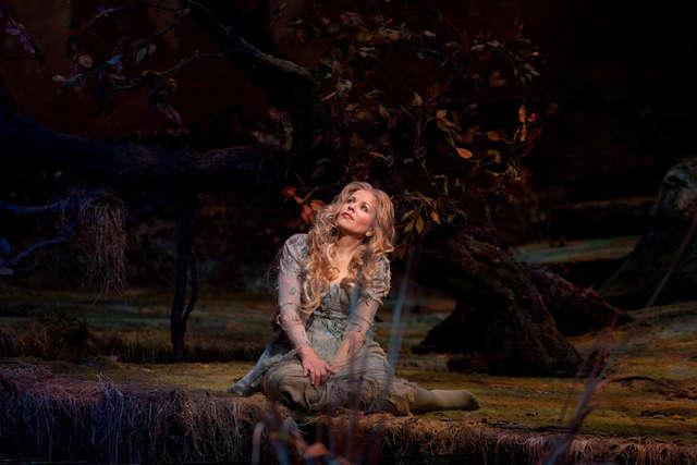 Nimfa zakochana w człowieku. Co na to leśna wiedźma? - full image