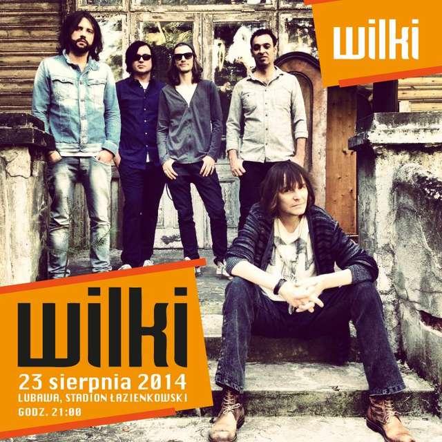 Plakat promujący koncert Wików w Lubawie - full image