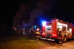 Nieskórz. Ogień strawił maszyny warte 60 tys. zł