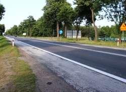 Tak dziś wygląda droga z Ostrowi do Wyszkowa