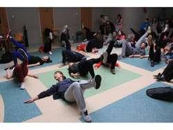 Dzień Aktywności Fizycznej spotkał się z zainteresowaniem gimnazjalistów