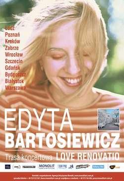 """""""Love Renovatio"""", czyli Edyta Bartosiewicz w trasie"""