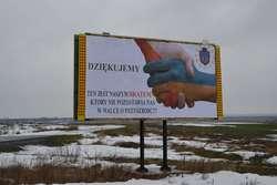 Ukraińcy z Rawy dziękują Polakom