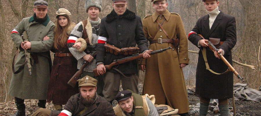 """Ekipa """"POKOLENIA"""" podczas zdjęć do filmu"""