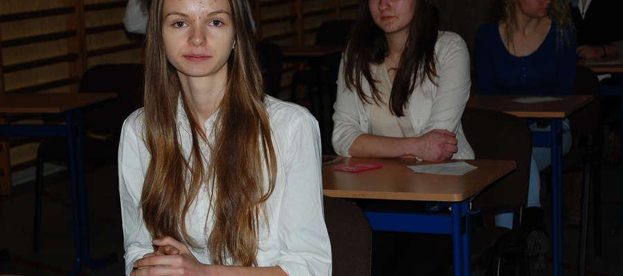 Gabriela Leszka będzie reprezentowała Ostrołękę w finale Olimpiady Wiedzy o Żywieniu i Żywności.