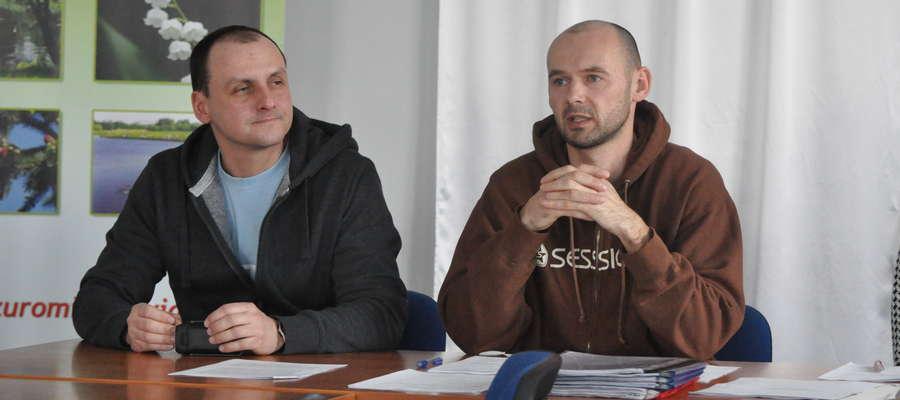 Przewodniczącym został po raz drugi Jacek Kołodziejski (z prawej)