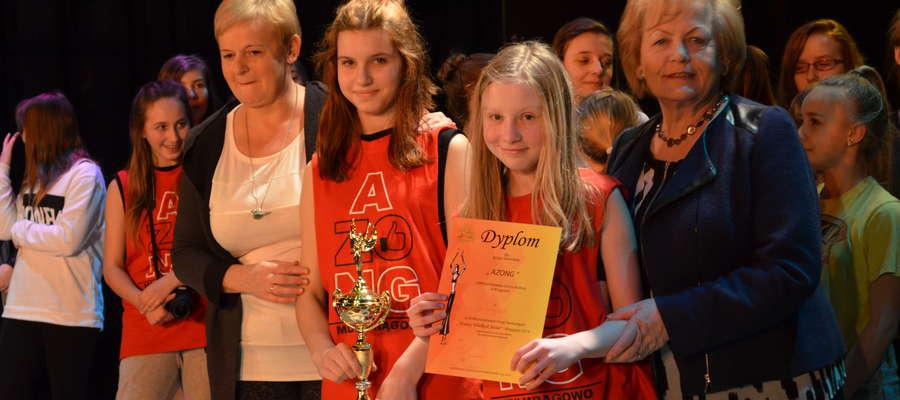 Grupa AZONG z MDK zdobyła III miejsce w kategorii gimnazja