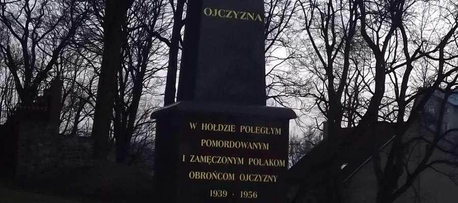 Pomnik w Hołdzie Poległym, Pomordowanym i Zamęczonym Polakom – Obrońcom Ojczyzny 1939 – 1956