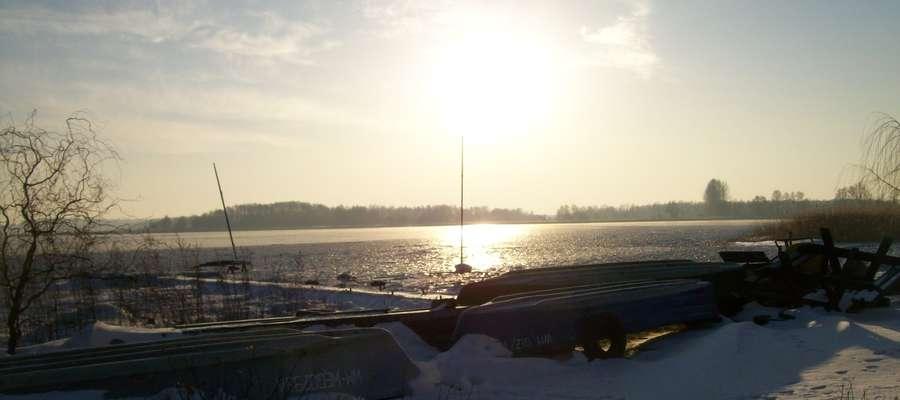 Zimowe widoki w Kalu