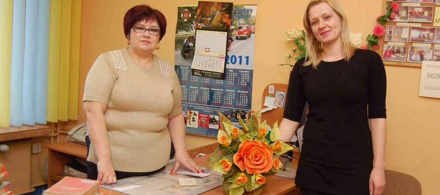 - Wszystkie warsztaty będą odbywały się w naszej bibliotece – mówią Barbara Gieryk (z lewej) i Martyna Ceberek
