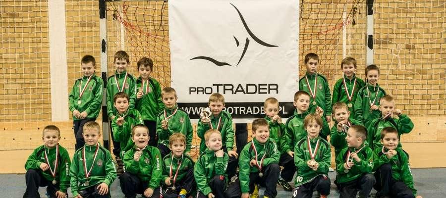 Młode Orły po pierwszej edycji turnieju.