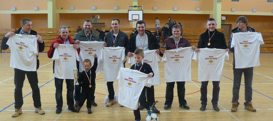 Mix Electronics Iława — mistrzowie Suskiej Ligi Futsalu sezon 2013/14