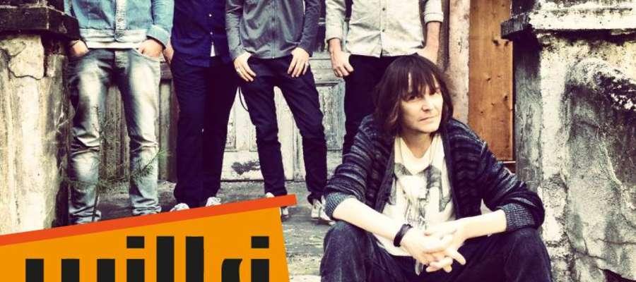 Plakat promujący koncert Wików w Lubawie