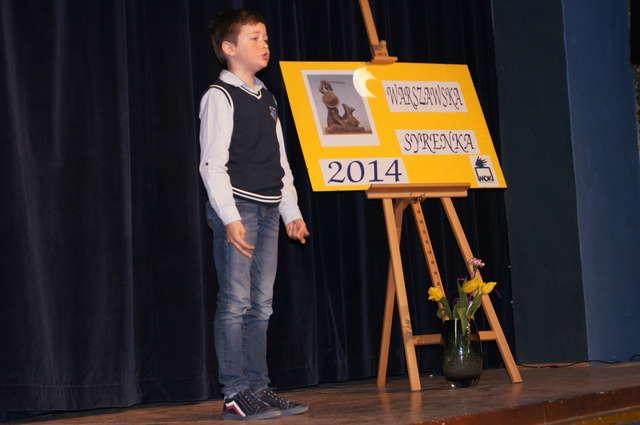 Na scenie zaprezentowali się młodzi recytatorzy - full image