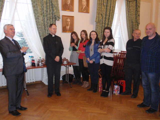 Uczestnicy wyjazdu spotkali się 28 lutego, by podzielić się wrażeniami  - full image