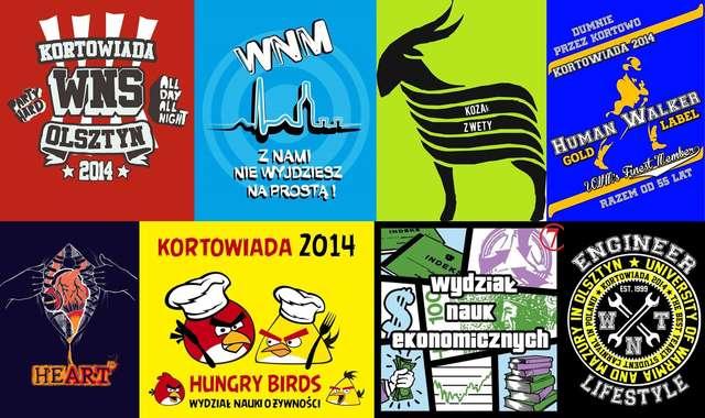 Kortowiada 2014. Zobacz koszulki studentów! - full image