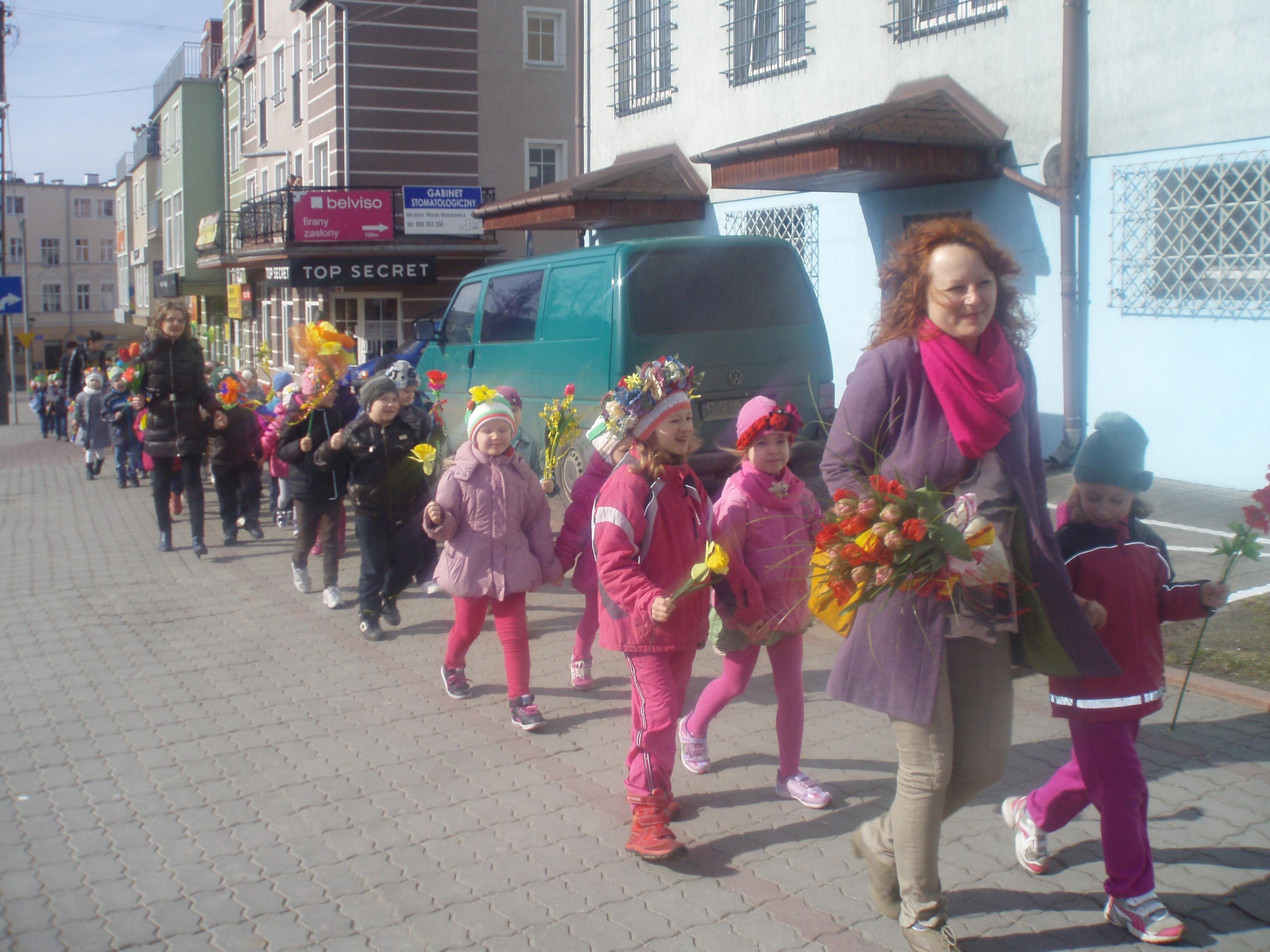 Przedszkole Puchatek Wita Wiosnę Kętrzyn