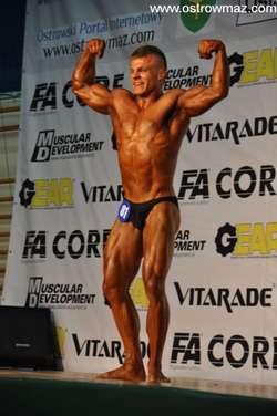 Damian Kryszpin - reprezentant Ostrowi - zajął III miejsce w kategorii kulturystyka mężczyzn