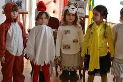 Pięciolatki zaprezentowały spektakl z okazji zapustów