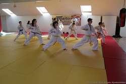 Obóz trudno nazwać wypoczynkowym – karatecy mieli zaplanowane trzy treningi dziennie