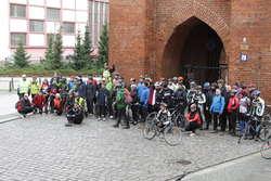 Rowerzyści wyruszyli o godz. 9.15 sprzed Bramy Targowej