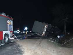 Stropkowo.Samochód ciężarowy potrącił rowerzystkę.Kobieta zmarła