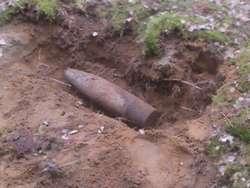 Przy warszawskiej dziesiątce znaleziono ponad półmetrowy pocisk