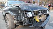 Kraksa na Wojska Polskiego. Ciężarówka zniszczyła 3 auta