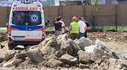 44 -letni mławianin zmarł na budowie