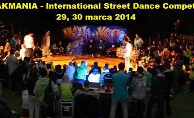 BREAKMANIA 2014. Międzynarodowe zawody tańca ulicznego w Kętrzynie