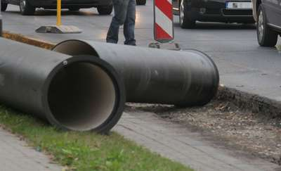Bursztynowa z kanalizacją