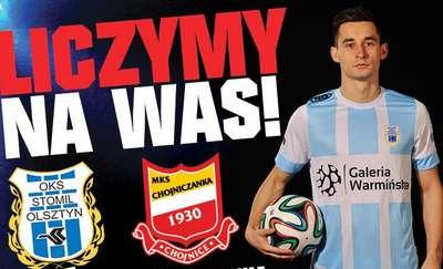 I liga w Olsztynie! Stomil Olsztyn - Chojniczanka Chojnice