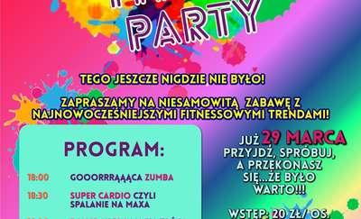 Fitness Party! Tego w Olsztynie jeszcze nie było!