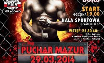 Bokserski Puchar Mazur 29 marca