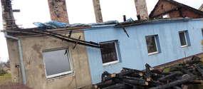 W pożarze stracili dom. Liczą na naszą pomoc