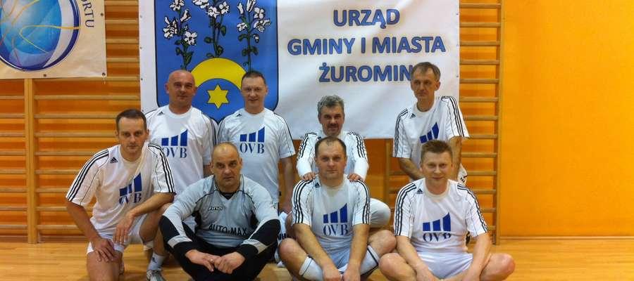Żuromińscy oldboje grali w Płońsku